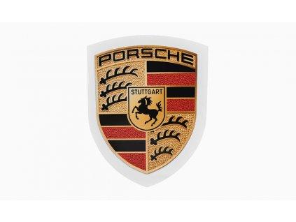 Porsche Crest Sticker (1)