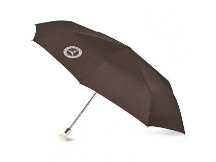 mercedes umbrella 300 sl compact polyester brown mercedes benz b66041533