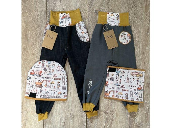 softsheelové zimní kalhoty Koloušek