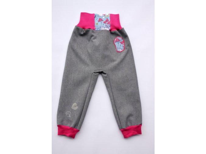 softsheelové zimní kalhoty Locika