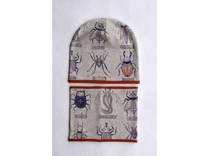 jarní čepice Hmyzíci