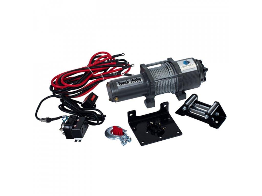 Elektrický naviják ATV 3500 LBS (1,6 T; 12 V)