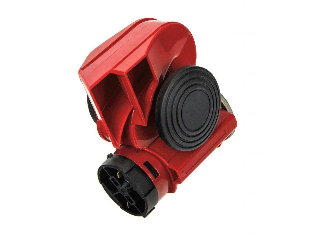 Malý kompresorový klakson - MOTO fanfára 12V, 139 dB
