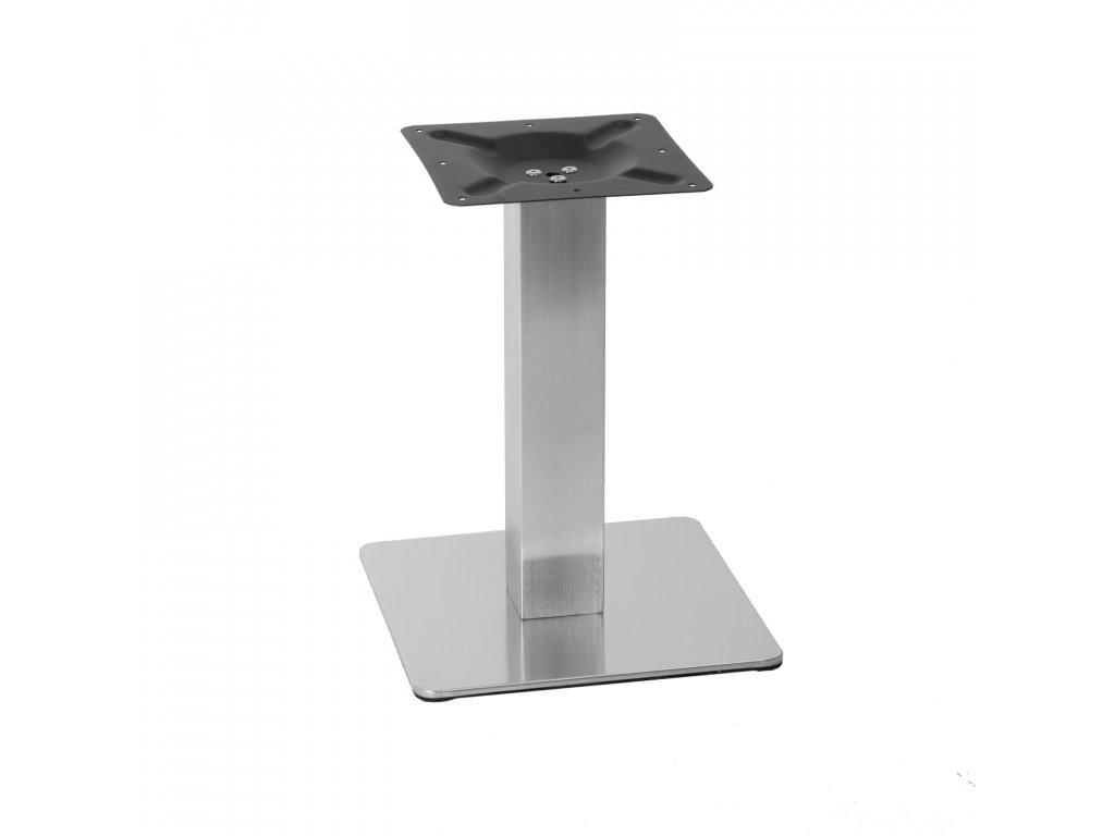 Nerezová stolová podnož 35x35x45 cm
