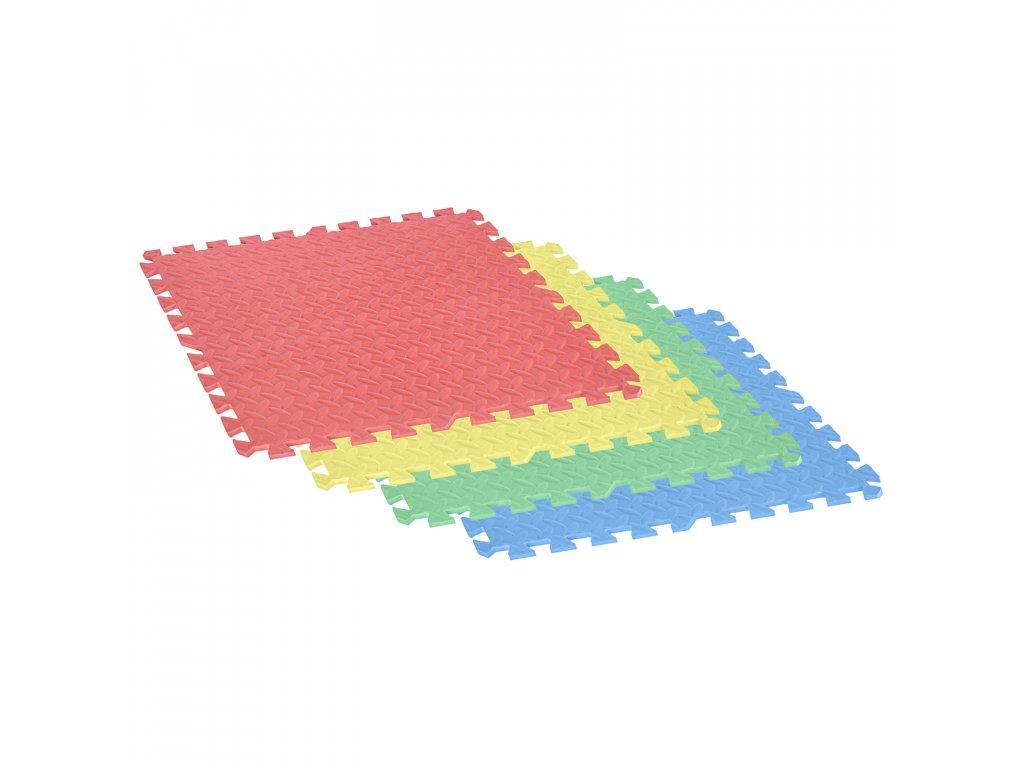 Bazénová podložka - tatami barevné