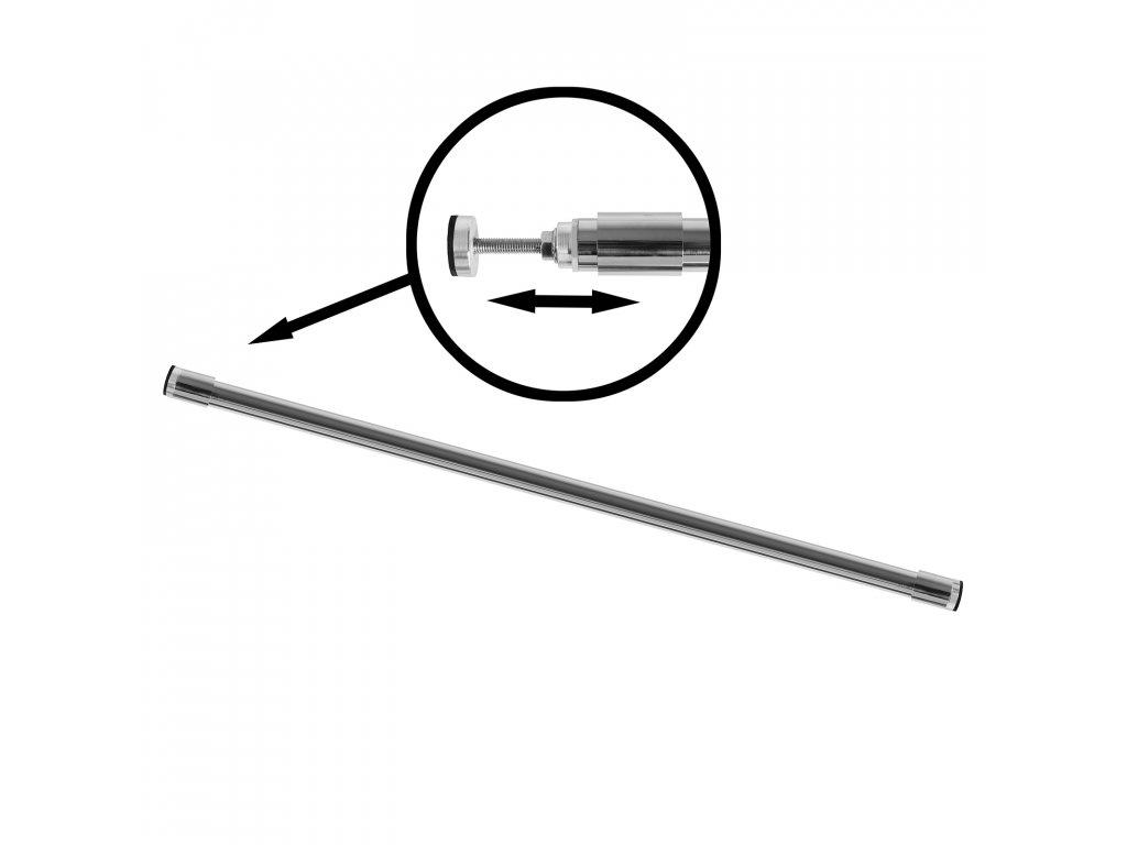 rozpěrná tyč do sprchového koutu
