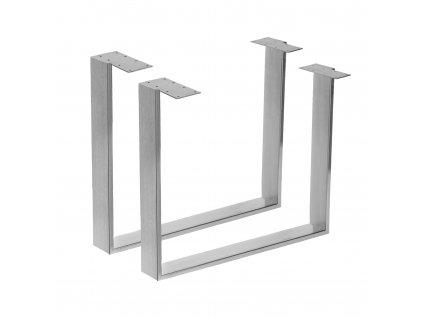 Velké nerezové stolové podnože