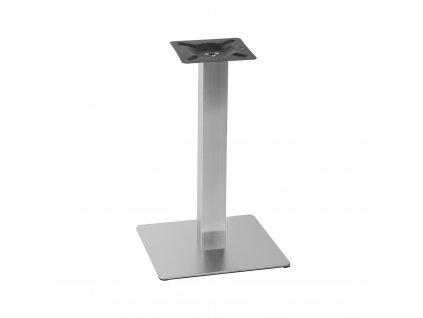 Nerezová stolová podnož 45x45x71 cm