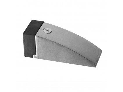 Nerezová dveřní zarážka - klínek