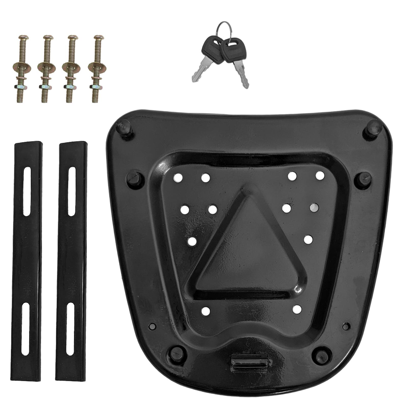 Onpira Motokufr jako GIVI pro dvě helmy - černý/ stříbrný Barevná varianta: Černá