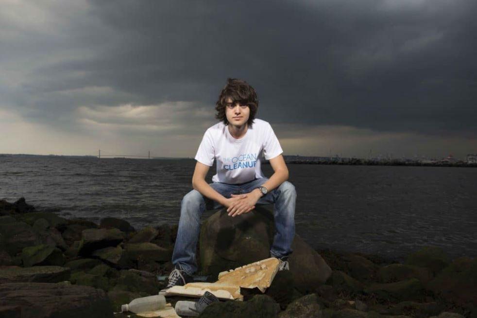 Naděje pro oceány. Boyan Slat. The Ocean Cleanup.