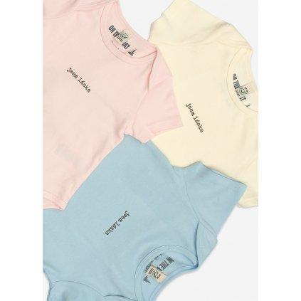 Dětské body Jsem Láska