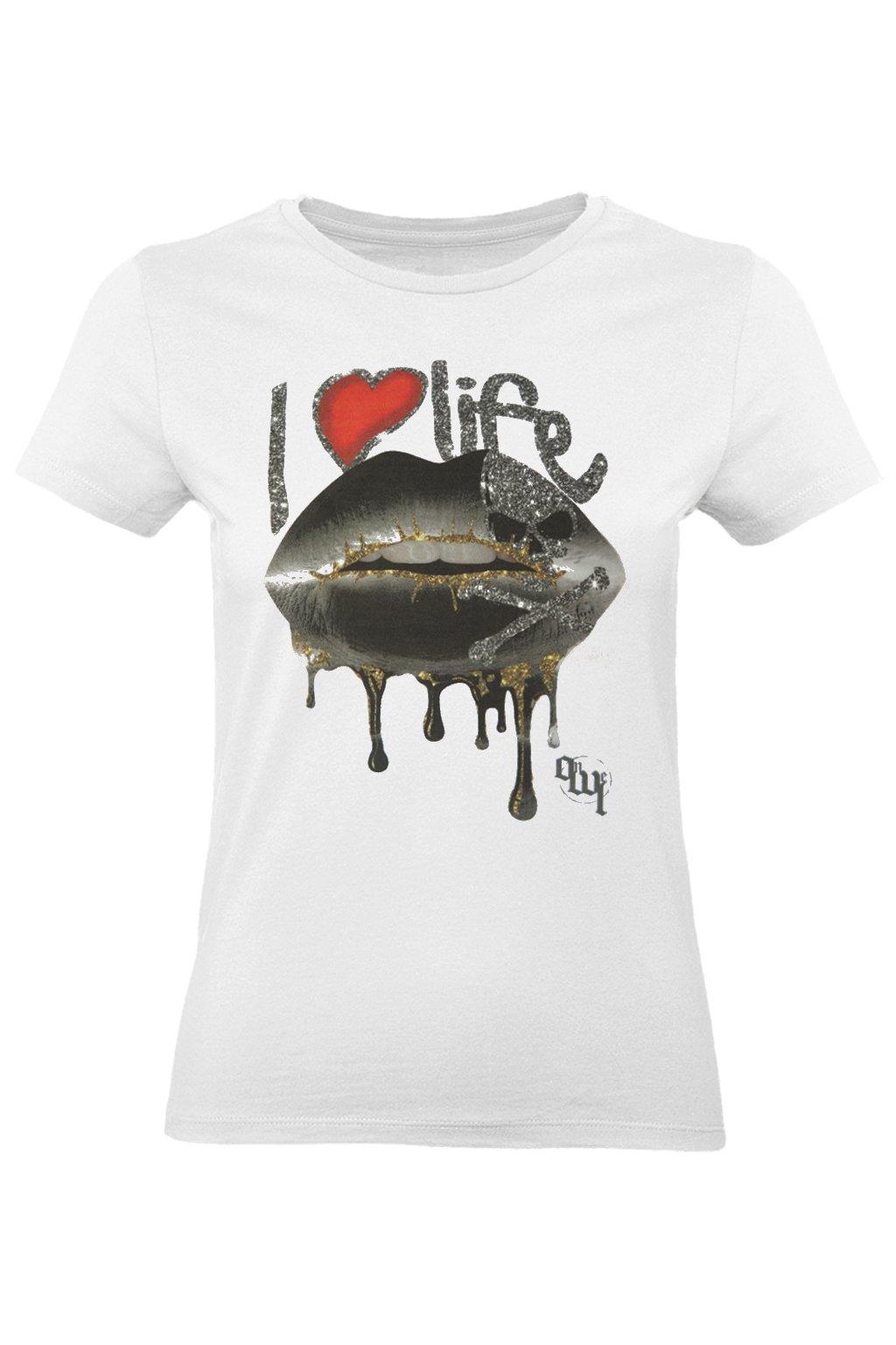 tričko miluji život
