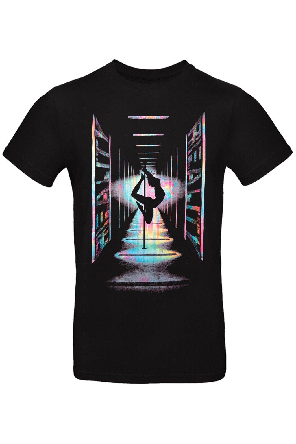 pánské tričko s tanečnici