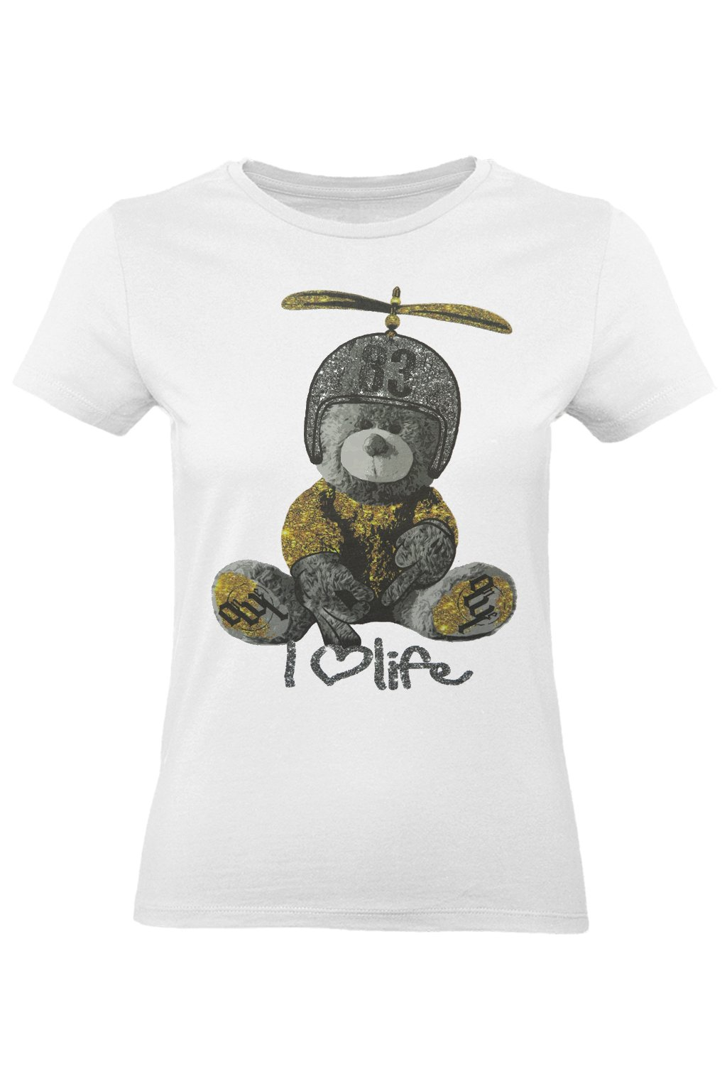 tričko medvídek