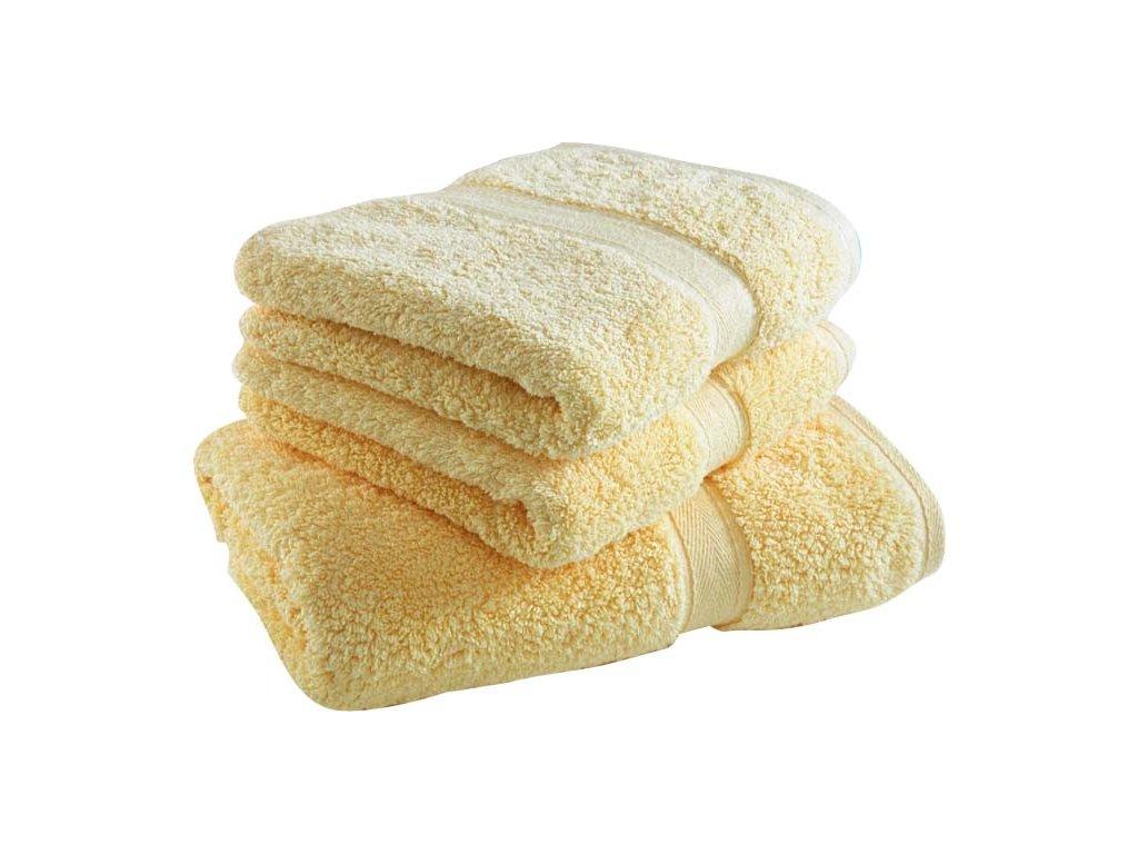 ručníky-osuška-Onyron-056-sv-žlutá