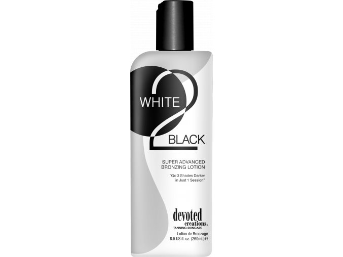devoted creations white 2 black 260ml