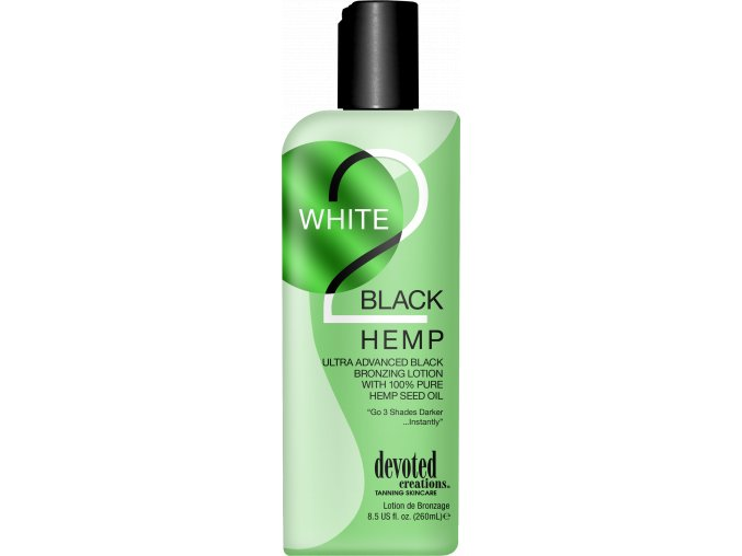 devoted creations white 2 black hemp 260ml