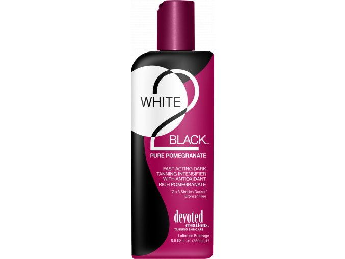 devoted creations white 2 black pure pomegranate 260ml