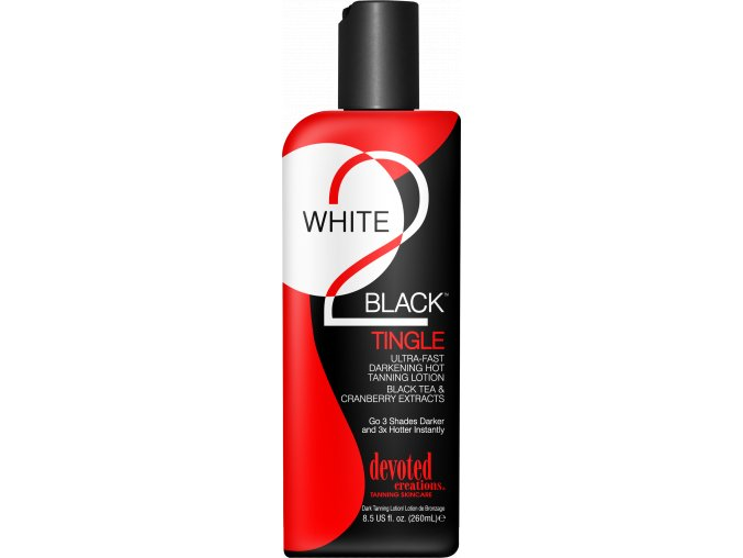 devoted creations white 2 black tingle 260ml