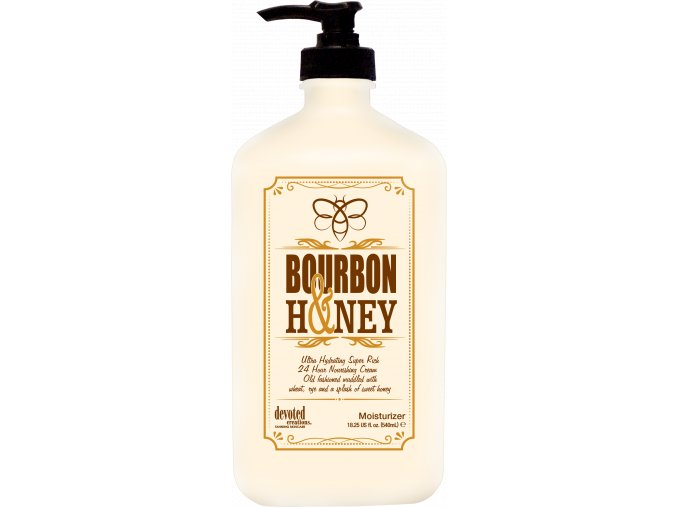 devoted creations bourbon and honey mositurizer 550ml