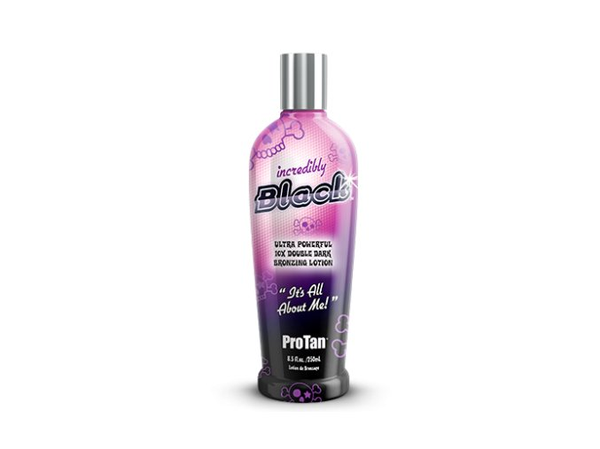 pro tan incredibly black 250ml