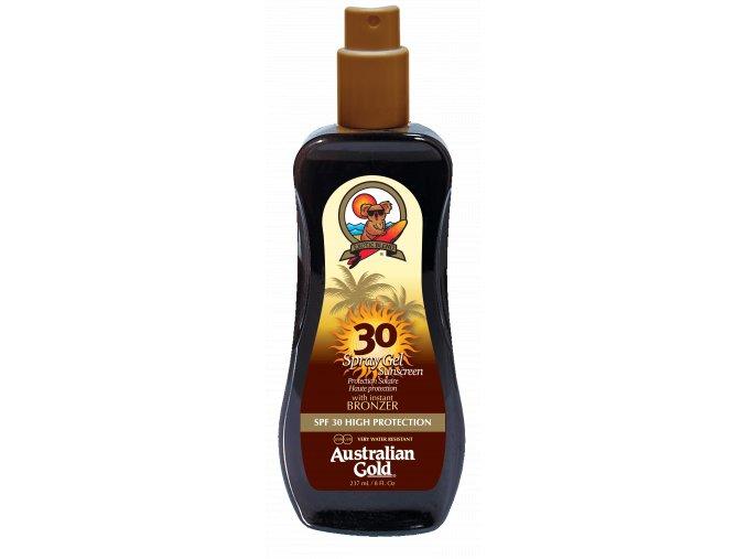Australian Gold SPF 30 Spray Gel Bronzer 237ml