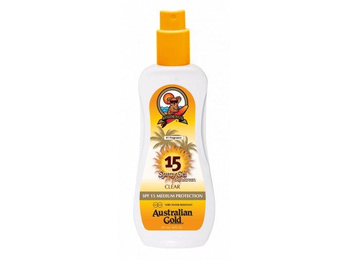 Australian Gold SPF 15 Spray Gel 237ml
