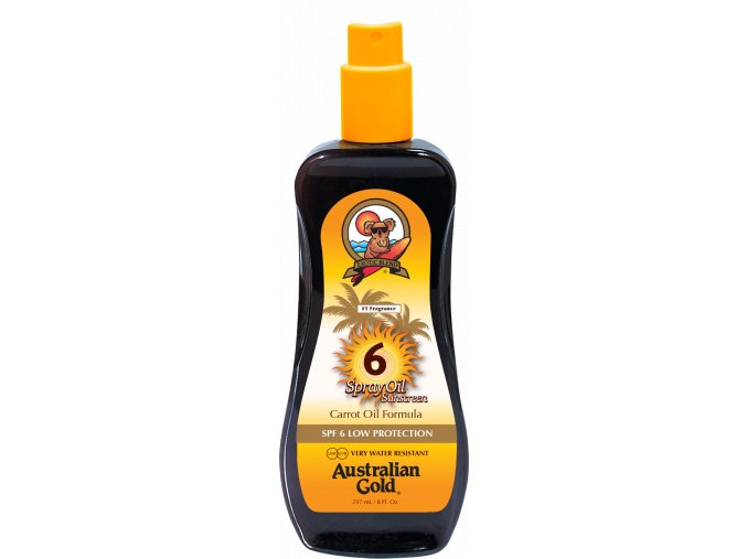 Australian Gold SPF 6 Spray Oil 237ml
