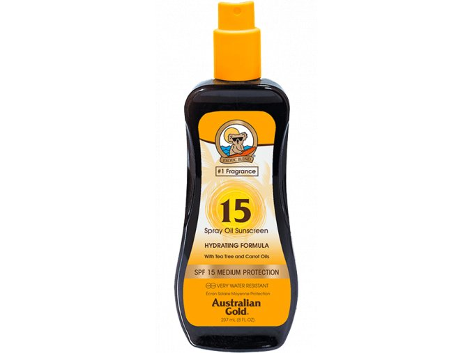 Australian Gold SPF 15 Spray Oil 237ml
