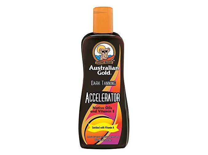 australian gold dark tanning accelerator 250ml