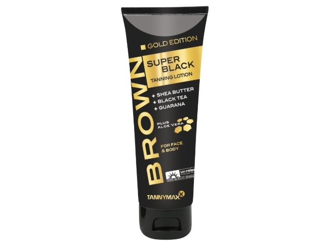 Tannymaxx Super Black Gold Edition Tanning Lotion 125ml