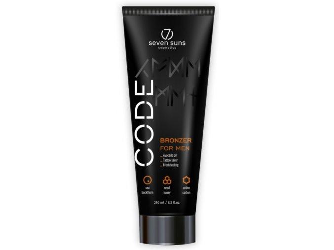 Seven Suns Cosmetics Code Bronzer for Men 250ml