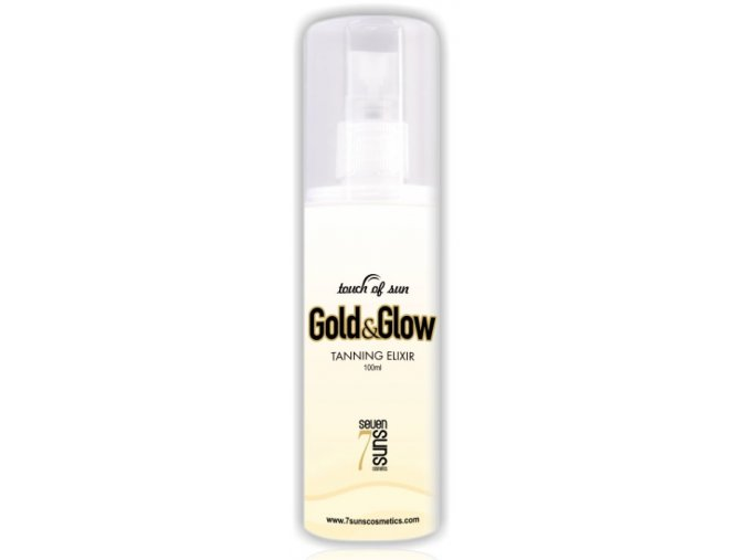 Seven Suns Cosmetics Gold and Glow Tanning Elixir 100ml