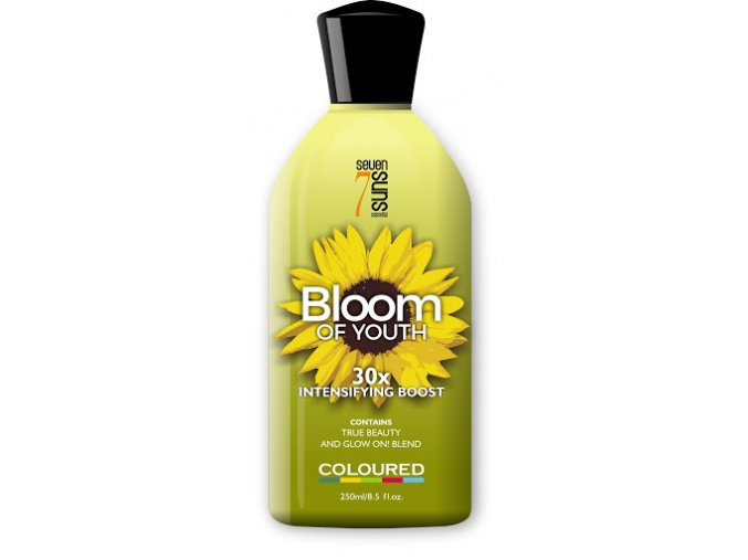 seven suns cosmetics bloom of youth 250ml