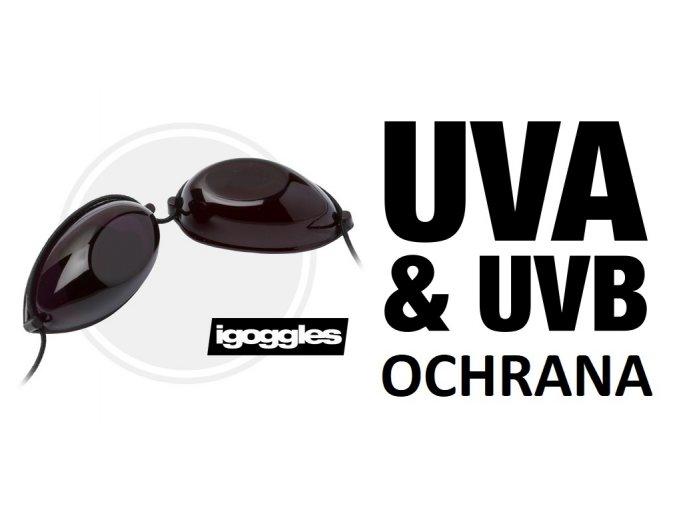 Brýle do solária igoggles