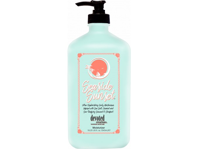 devoted creations seaside sunset moisturizer 550ml