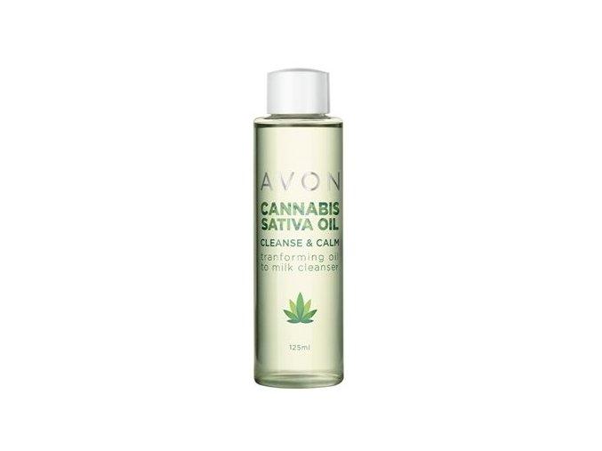 Avon Cannabis Sativa Oil Čisticí péče s konopným olejem 125ml