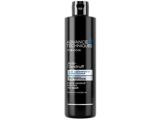 Avon Šampon a kondicionér 2 v 1 s Pyrithionem zinku proti lupům 400ml
