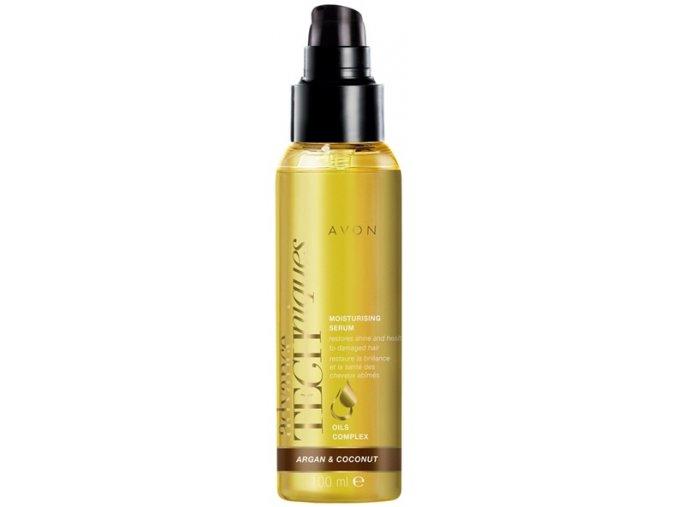 Avon Hydratační sérum na vlasy s arganovým a kokosovým olejem 100ml