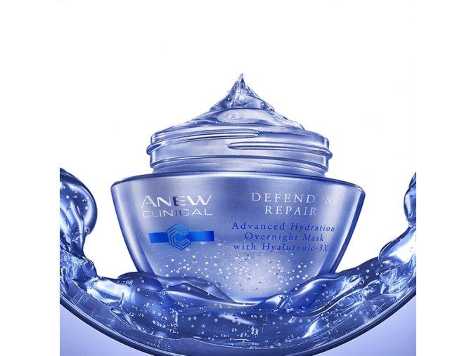 Avon Noční hydratační pleťová maska s komplexem Hyaluronic 3X 50ml