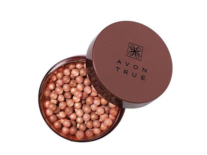 Avon Bronzové tónovací perly pro rozjasnění pleti 22g