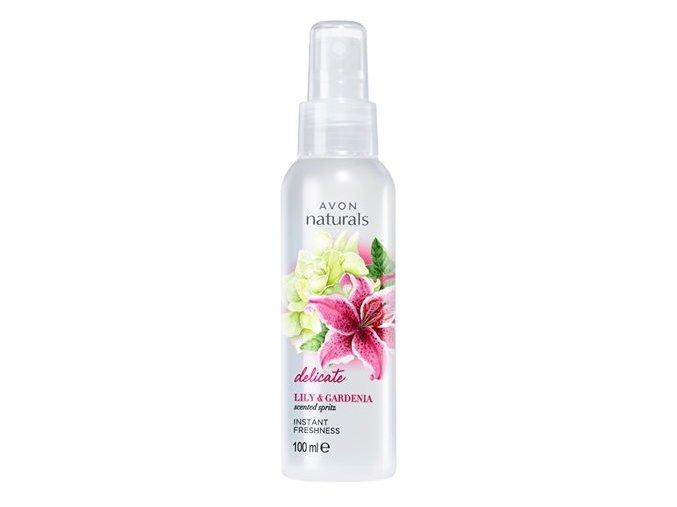 Avon Tělový sprej s lilií a gardénií 100ml
