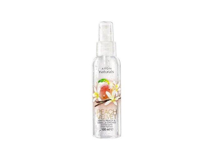 Avon Tělový sprej s vůní broskve a vanilky 100ml