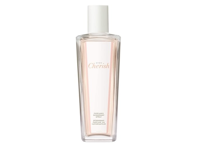 Avon Parfémovaný tělový sprej Avon Cherish ve skleněném flakonu 75ml