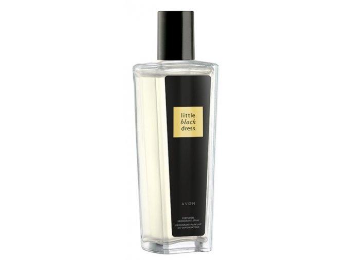 Avon Parfemovaný tělový sprej Little Black Dress ve skleněném flakonu 75ml