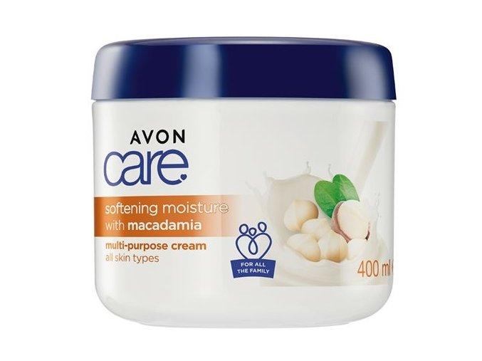 Avon Zjemňující hydratační krém na obličej, ruce a tělo s makadamovým ořechem 400ml