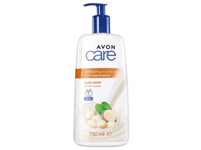 Avon Zjemňující hydratační tělové mléko s makadamovým ořechem 750ml