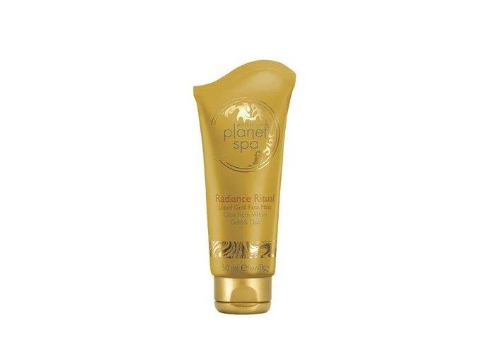 Avon Rozjasňující pleťová maska se zlatými částečkami 50ml