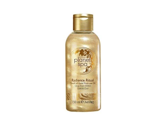 Avon Rozjasňující olej na tělo a vlasy se zlatými částečkami 150ml